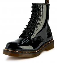 Eyelet Leather Ankle Boots