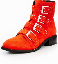 Casual Studded Ankle Boot